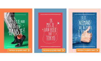 korting gratis Hallmark kaart inclusief postzegel