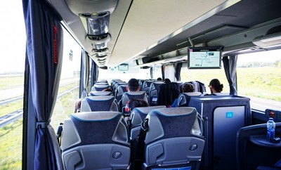 Ouibus idbus review met de bus naar lille for Ouibus interieur