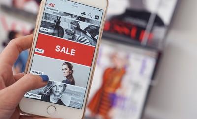 online shoppen mobiel iPhone