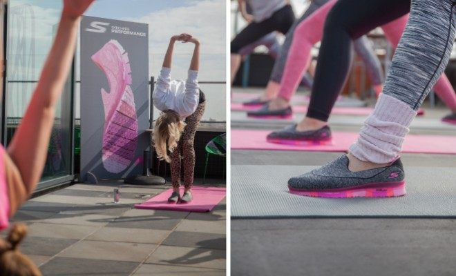 Skechers Gogamat yogaschoenen
