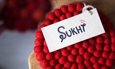 handgemaakte kleden sukhi uitgelicht