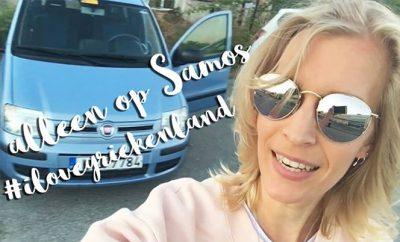 Alleen op vakantie naar Samos blog 1