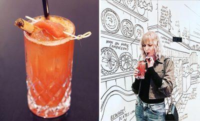INK Hotel Cocktailwedstrijd - cocktail stoofpeer